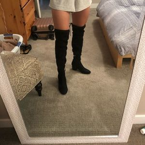 Steve Madden OTK Faux Suede Boots